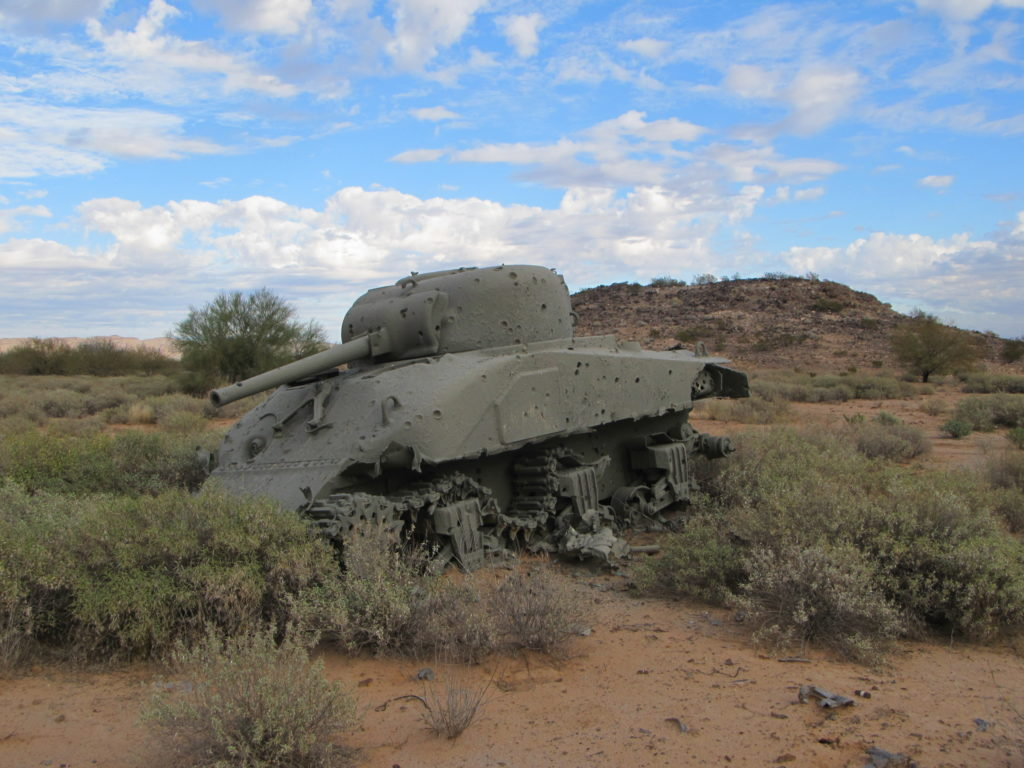 An old tank