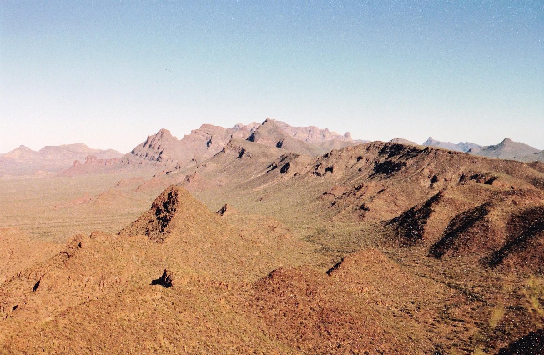 Sierra De Santa Rosa Desert Mountaineer